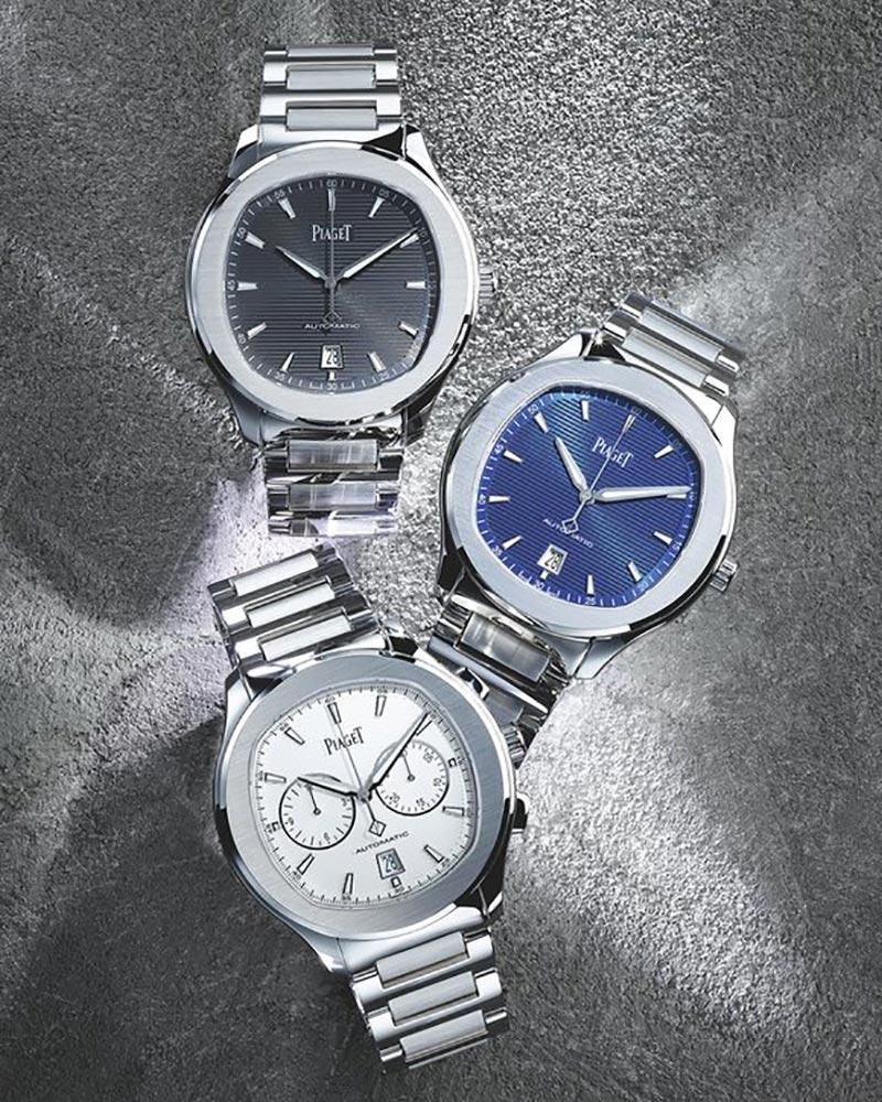 fe922eeb015 A Piaget revisita o seu best-seller da década de oitenta e apresenta a  colecção Polo S. Uma linha