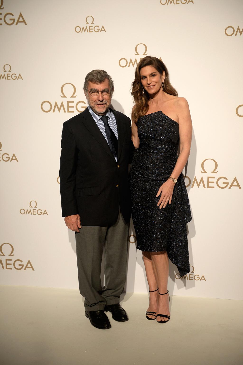 a13f85446ee Cindy Crawford inaugura Boutique Omega em Portugal - Revista Turbilhão