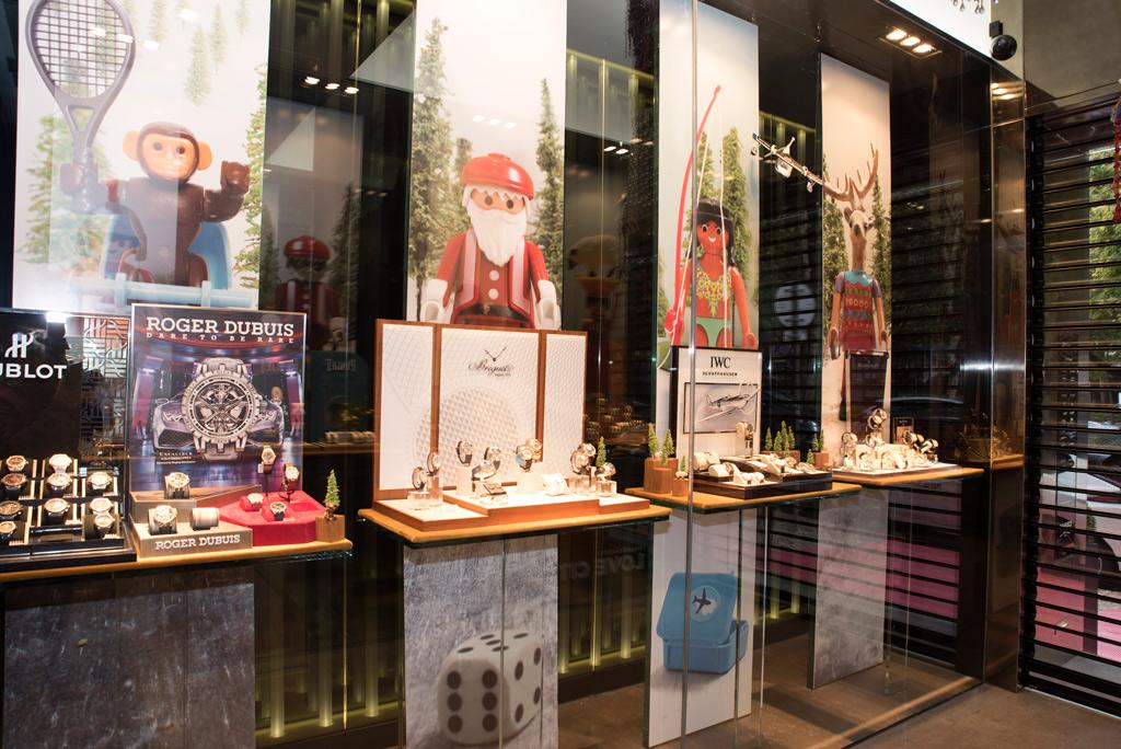 Universo Playmobil de Heberth Sobral toma conta da Boutique dos Relógios Plus Art
